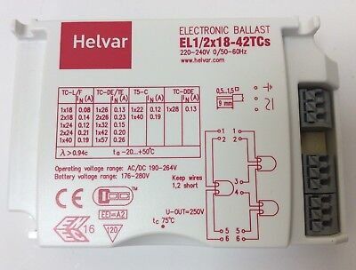 Hf Electronic Ballast 1X18 To 1X42 For Compact Fluorescent (B67)