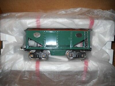 Mth Tinplate---No.521 Green Ore Car ---Item No. 10-1129-Tinplate Tradition-New