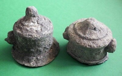 Ancient Celtic Druids Lead House Altars - Extremely Rare - 100 Bc