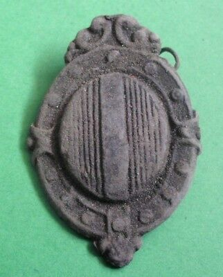 Ancient Celtic Bronze Shield Decoration - 100 Bc