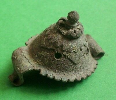 Intact Ancient Celtic Druids Bronze Decoration - 100 Bc