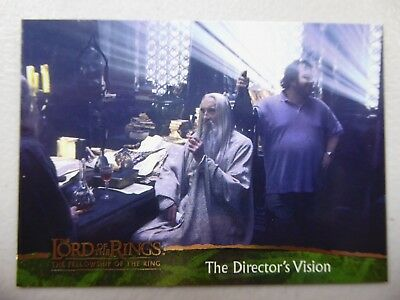 TOPPS Card : LOTR The Fellowship Of The Ring  #89 THE DIRECTOR'S VISION