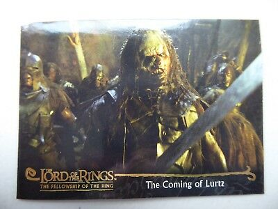 TOPPS Card : LOTR The Fellowship Of The Ring  #147 THE COMING OF LURTZ