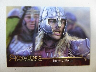 TOPPS Lord of the Rings: The Two Towers - Card #159 EOMER OF ROHAN