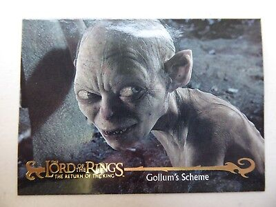 TOPPS Card : LOTR The Return Of The King  #21 GOLLUM'S SCHEME