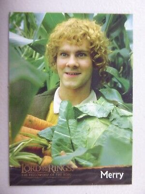 TOPPS Card : LOTR The Fellowship Of The Ring  #6 MERRY