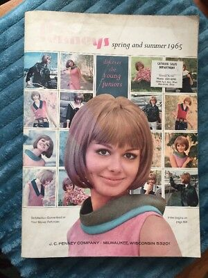 VINTAGE PENNEYS 1965 Spring And Summer CATALOG DEPARTMENT STORE 995 PAGES