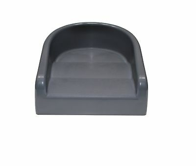 Prince Lionheart Soft Booster Seat, Charcoal Grey Galactic Grey