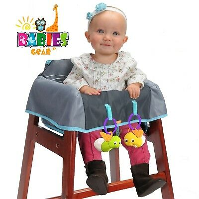 High Chair Cover Baby High Chair Cover Wooden or Restaurant High Chair Cover