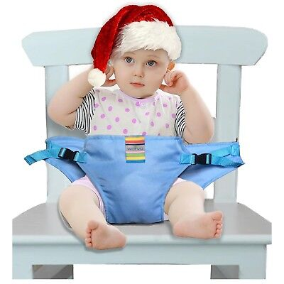 The Washable Portable Travel High Chair Booster Baby Seat with straps Toddler...