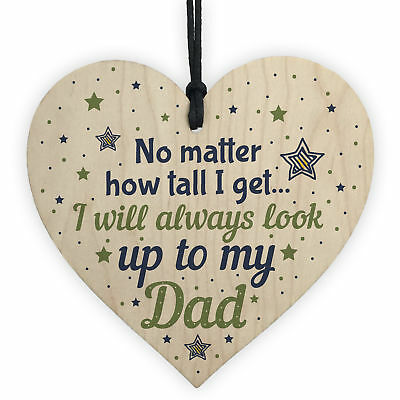 Daddy Dad Birthday Gifts From Daughter And Son Christmas For Men Wood Sign