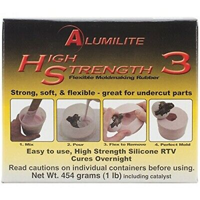 Amazing Casting Products Alumilite High Strength 3 Liquid Mold Making Rubber 1
