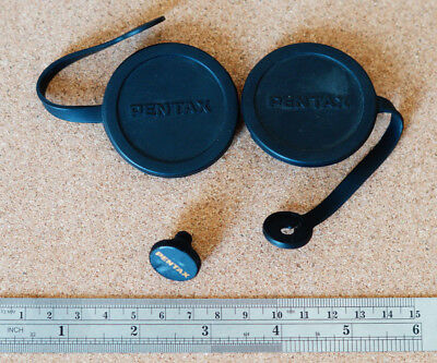 Pentax binocular rubber objective lens covers spares