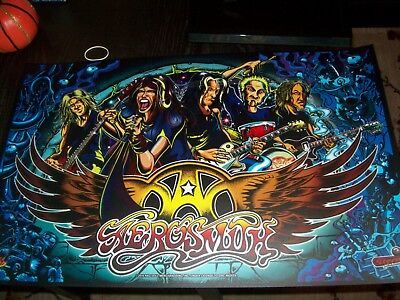 Aerosmith Stern Pro Pinball Machine NEW NOS Translite!