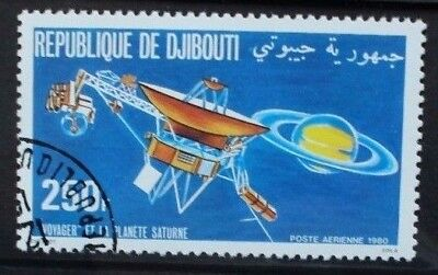 DJIBOUTI 1980 Space Exploration Voyager Probe. Set of 1. Fine USED/CTO. SG801.
