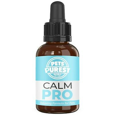 Pets Purest 100% Natural Calming Aid Supplement for Dogs, Cats, Horses & Pets