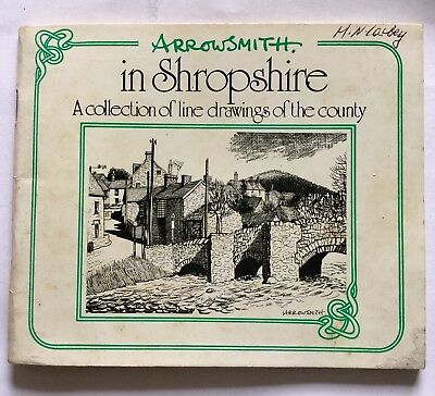 Arrowsmith A Collection Of Line Drawings Of Shropshire