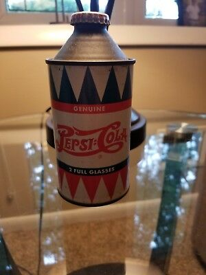 rare pepsi cola duble dot cone top can