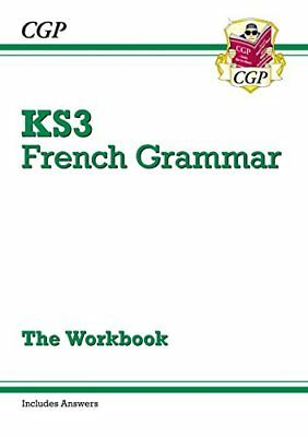 New KS3 French Grammar Workbook (Includes Answers)-CGP Books