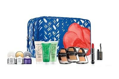 Lancome Essential Cream,Star Bronze,Exfoliance,Lipstick,Mascara and Mor Gift Set