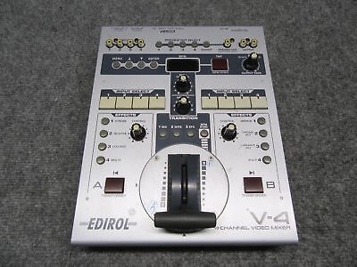 Roland Edirol V-4 4 Channel Digital Video Mixer Live Production Switcher *Tested