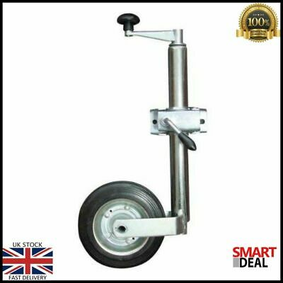 Maypole 48mm Jockey Wheel Clamp Trailer Caravan Heavy Duty Tyre Replacement NEW