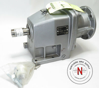 Nord Drivesystems Sk22-N56C Inline Gear Reducer, 35.55:1, 1280Lb-In, Mfg 2015