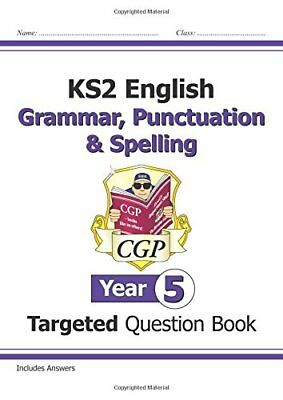 KS2 English Targeted Question Book: Grammar, Punctuation & Spelling - Year 5-CGP