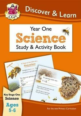 KS1 Discover & Learn: Science - Study & Activity Book, Year 1-CGP Books, CGP Boo