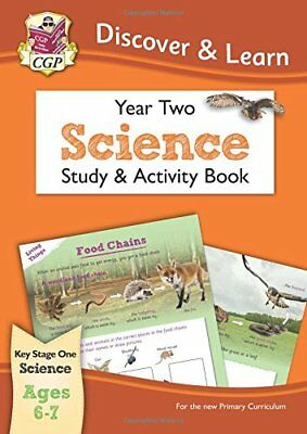 KS1 Discover & Learn: Science - Study & Activity Book, Year 2-CGP Books, CGP Boo
