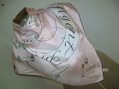 Agent Provocateur. Saucy & Cheeky Special Agents Design Vintage Silk Scarf