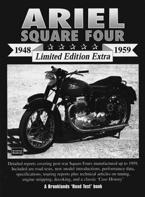 Ariel Square Four 1948-1959 Limited Edition Extra-R.M. Clarke