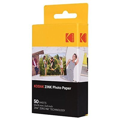 "50 Sheets Kodak 2x3"" Sticky-Backed ZINK Photo Paper"