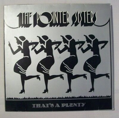 4 LP's POINTER SISTERS That's A Plenty / Energy / Break Out / Priority