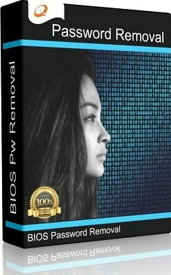 BIOS Password Recovery Deletion Reset Removal Unlock Software for PC/Laptop DVD