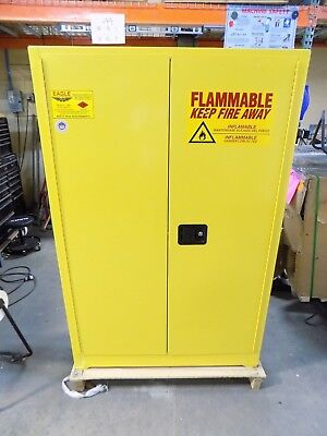 Eagle Safety Storage Cabinet for Flammable Hazards 45 Gal. Capacity 1947