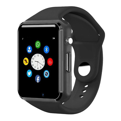 Bluetooth Touch Screen Wrist Smartwatch Phone with SIM Card Slot Smart Watch NEW