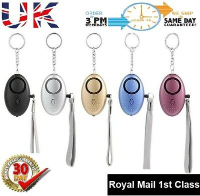 Police Approved Key ring 130 db Personal Panic Rape Attack Safety Security Alarm