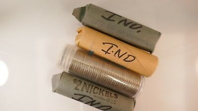 ROLL of Old Buffalo Nickels Unsearched Mixed Dates and Mints 40 COINS!