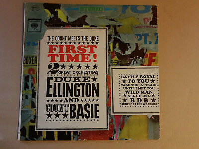 Duke Ellington And Count Basie ‎– First Time! The Count Meets The Duke  , LP