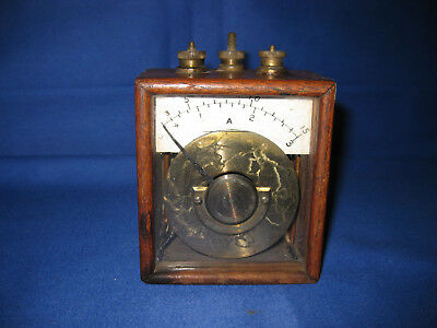 Rare Late Victorian Antique Galvanometer