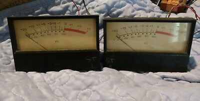 Vintage Simpson VU Audio meter 4-1/2 x 2-7/8   Last two..