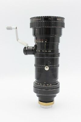 P. Angenieux 12-120mm F/2.2 Type 10x12 B C mount lens