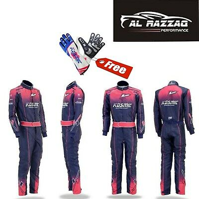 Kosmic Karting race suit Sublimation level 2 Marked karting suit W/ Free gloves