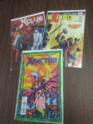 X-Factor (2010) #232 VF 8.0, EXiled Part 1, X-club 5 Limited Series.