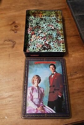 WADDINGTONS JIGSAW..Prince Charles & Lady Dianna..limited edition