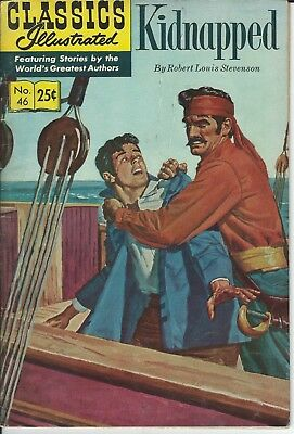 Classics Illustrated Kidnapped 1970  No.46
