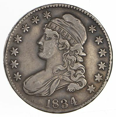 1834 Capped Bust Half Dollar - Circulated *0653