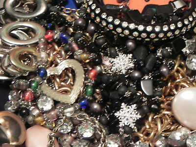 Estate Sale Lot of Vintage to Modern Jewelry, Untested, #707 Some Signed