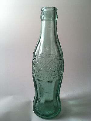 "Vintage ""23"" Coca Cola bottle -- ""CLIFTON FORGE VA"" -- Dec 25 1923"